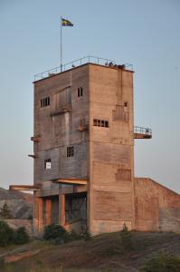 Fabriksbyggnad, furillen